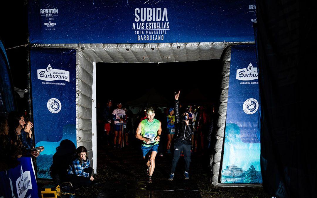 Raúl Díaz y Meg Mackenzie logran la victoria en la Agua Manantial Barbuzano Subida a las Estrellas