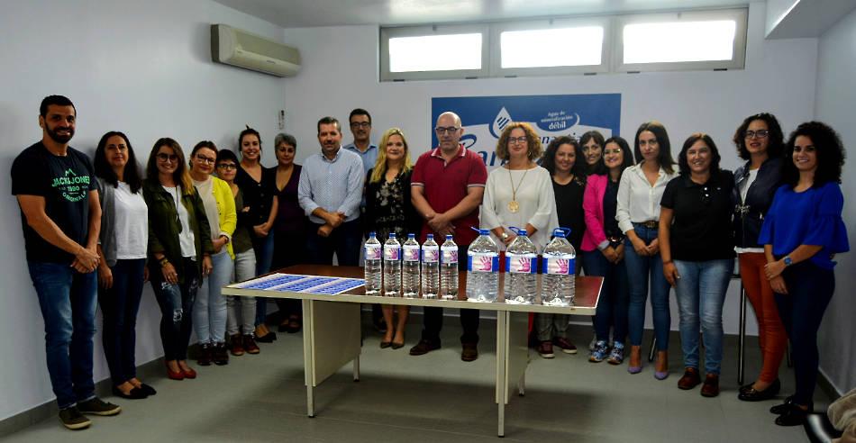Aguas de La Palma S.A. se une a las instituciones públicas y a las asociaciones de igualdad de la Isla para rechazar la violencia de género