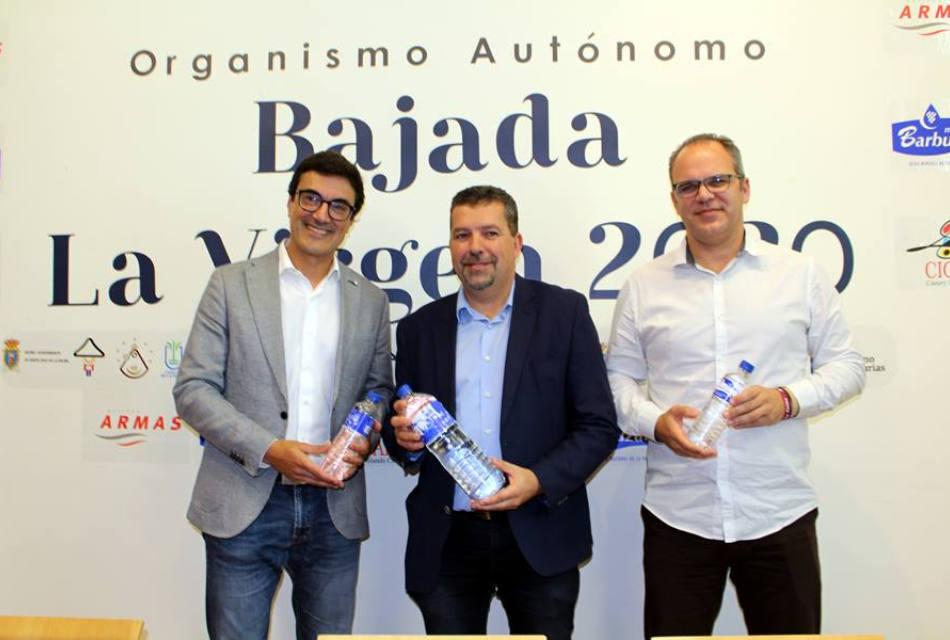 El Organismo Autónomo de la Bajada y Aguas de La Palma presentan las 12 etiquetas que conmemoran las próximas fiestas lustrales
